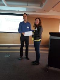 EpiCSA Best Poster Talk Award – Marie Lowe