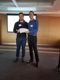 EpiCSA Best Oral Presentation Award – Justin Bogias
