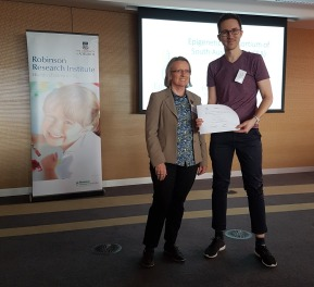 Robinson Research Institute Award for Best Epigenetic Oral Presentation in Reproduction – John Schjenken